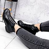 Ботинки женские Harry черные 2454 кожа ЗИМА, фото 5