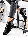 Ботинки женские Harry черные 2454 кожа ЗИМА, фото 9