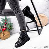 Ботинки женские Selty черные 2656 Зима, фото 2
