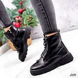 Ботинки женские Selty черные 2656 Зима, фото 3