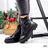 Ботинки женские Selty черные 2656 Зима, фото 4