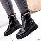Ботинки женские Selty черные 2656 Зима, фото 5