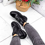 Ботинки женские Selty черные 2656 Зима, фото 8