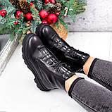 Ботинки женские Selty черные 2656 Зима, фото 9