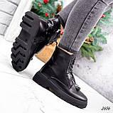 Ботинки женские Selty черные 2656 Зима, фото 10