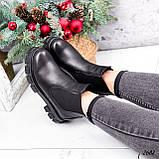 Ботинки женские Fred черные 2682 ЗИМА, фото 3