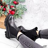 Ботинки женские Fred черные 2682 ЗИМА, фото 4