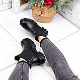 Ботинки женские Fred черные 2682 ЗИМА, фото 5