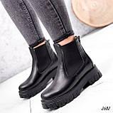 Ботинки женские Fred черные 2682 ЗИМА, фото 6