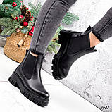 Ботинки женские Fred черные 2682 ЗИМА, фото 9