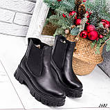 Ботинки женские Fred черные 2682 ЗИМА, фото 10