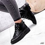 Черевики жіночі Gordo чорні 2683 ЗИМА, фото 2