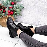 Черевики жіночі Gordo чорні 2683 ЗИМА, фото 4
