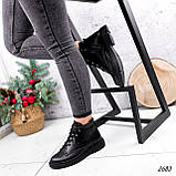 Черевики жіночі Gordo чорні 2683 ЗИМА, фото 7