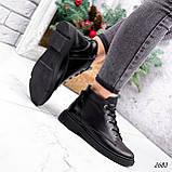 Черевики жіночі Gordo чорні 2683 ЗИМА, фото 10