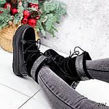 Луноходы женские Gis черные 2762 ЗИМА, фото 3