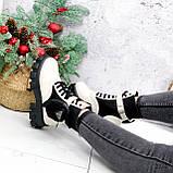 Ботинки женские Livia беж + черный 2774 ДЕМИ, фото 9