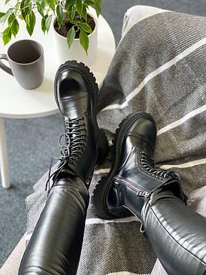 Balenciaga Tractor Lace-up Boot Black (черные)
