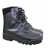 Ботинки MIL-TEC TACTICAL STIEFEL LEDER Black, фото 1