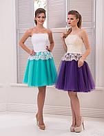Вечернее платье (28) для выпускных вечеров и свидетельниц (цвета - в ассортименте)