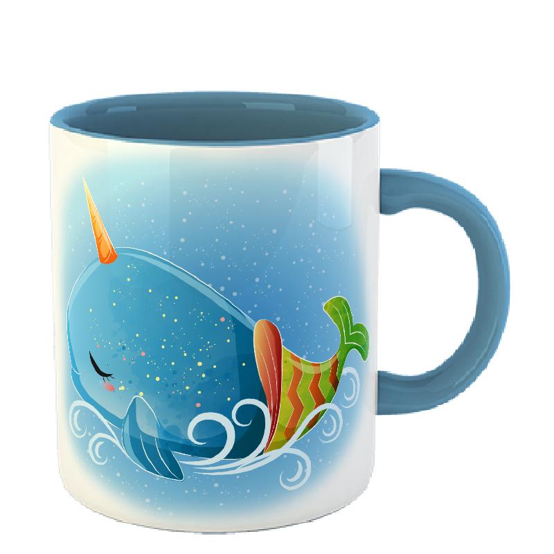 Чашка Кит (единорог)