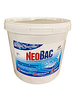 NeoBac, 5 кг биопрепарат для туалетов, септика, ям с ароматом ЭВКАЛИПТА!