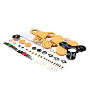 Спиннер світиться збірка радіоаматора DIY Kit пайка компонентів, фото 3