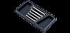 Набір ключів разрезн.(8х9,10х11,12х13,14х17,17х19) в ложем. 5 пр. HANS TT-8