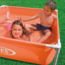 """Дитячий басейн """"Надійний"""" Intex 122x122x30 ІНТЕКС 57171"""