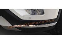 Хром накладки на передний бампер Changan CS75 2015+