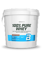Сывороточный протеин концентрат BioTech 100% Pure Whey (4000 г) биотеч пур вей фундук