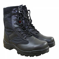 Ботинки MIL-TEC SECURITY STIEFEL Black, фото 1