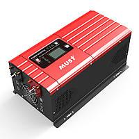 MUST EP3024C 3000Вт 24 вольта  инвертор для солнечных панелей преобразователь