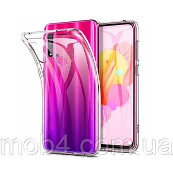 Силиконовый ультратонкий прозрачный чехол для Huawei Nova 6