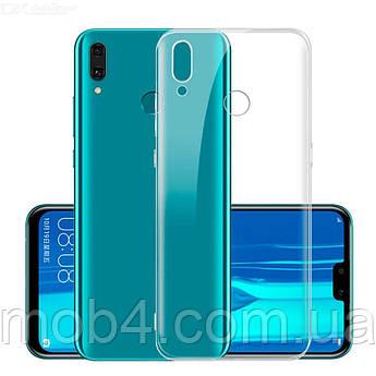 Прозорий ультратонкий силіконовий чохол для Huawei Y9 2019