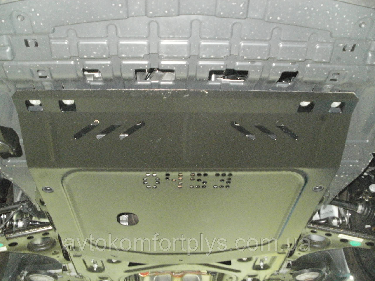 Защита двигателя Chevrolet Tracker
