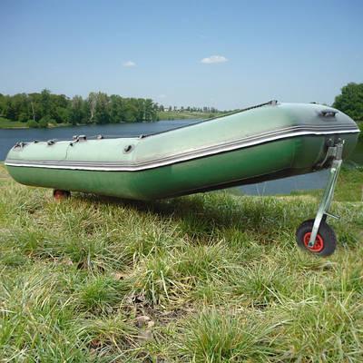 Колеса для лодки
