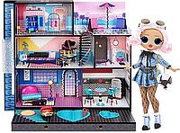 Будинок для ляльок ЛОЛ Оригінал LOL Surprise OMG House New Real Wood Doll House (571414)