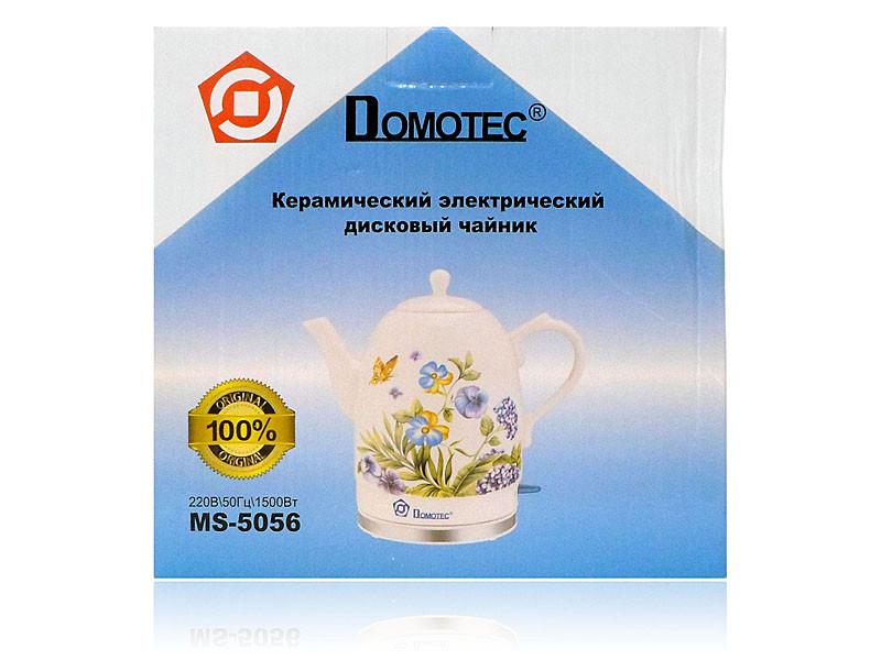 Електрочайник керамічний 1,7 л 1500Вт Domotec MS-5056