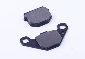Колодки гальмівні передні (дискові гальма), к-т 2 шт - AD50/sepia