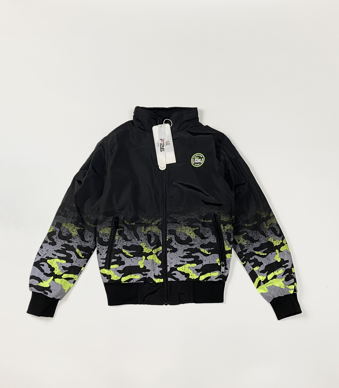 Двухстороння куртка- плащевка (Внутри-трикотаж). 8- 16 лет.