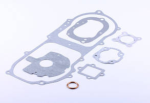Прокладки двигателя, к-т: прокладка 6 шт. + кольцо - Yamaha JOG 50 - 3KJ