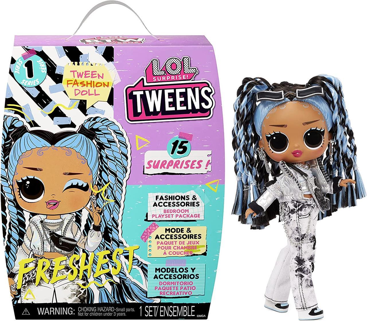 Ігровий набір LOL Surprise серії Tweens Freshest Fashion Doll Лялька ЛОЛ Хуліганка
