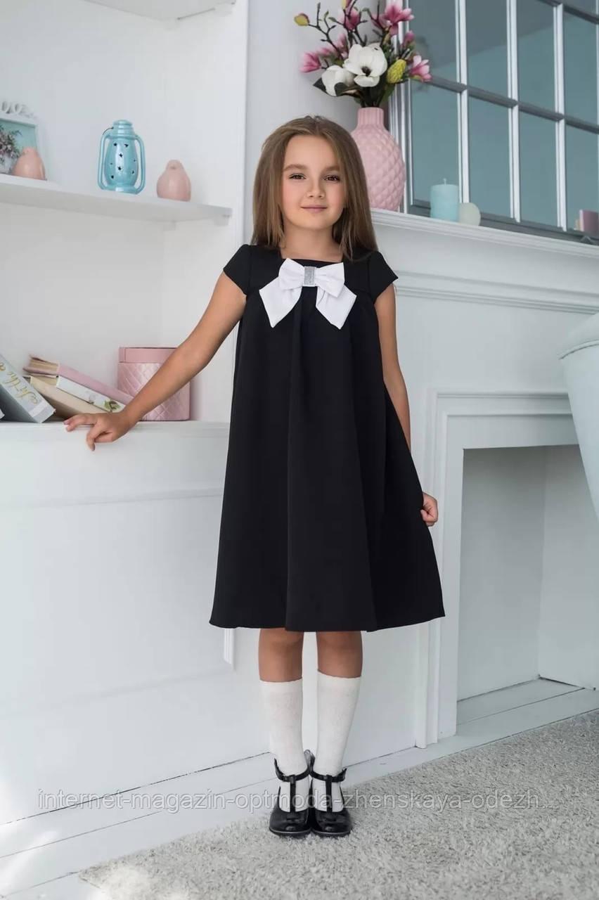 Сукні для дівчаток оптом - мод№641-мас - Дуже гарне дитяче повсякденне шкільне плаття на кожен день