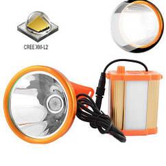 Налобный шахтёрский фонарь Small Sun ZY-H59-L2 , (Оригинал)