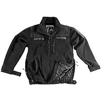 Куртка военная Helikon Defender QSA+HID Duty Fleece - Black