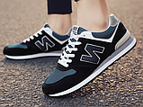 Кросівки в стилі New Balance 520 сині, фото 2