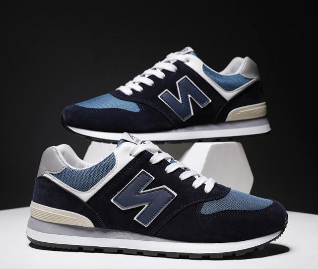 Кроссовки в стиле New Balance 520 синие