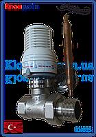 Термостатический клапан 3/4 с выносным датчиком