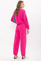 Трендовий спортвный прогулянковий костюм світшот і штани розмір XS, S, M, L, XL, фото 2